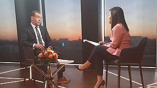 Il premier russo commenta in esclusiva a euronews le sanzioni dell'Occidente