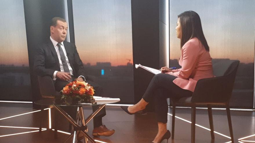 Medwedew bezeichnet Bankensanktion als Kriegserklärung