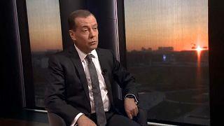"""Medvédev: """"Con sus sanciones, la UE declaró una guerra comercial a Rusia"""""""