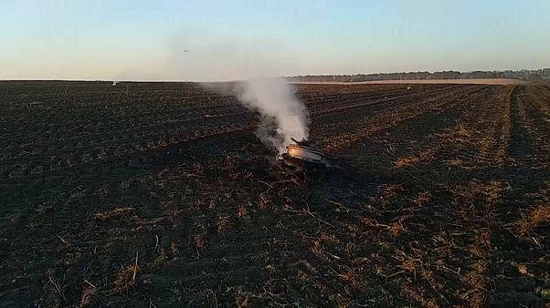 Крушение Су-27УБ с американцем на борту