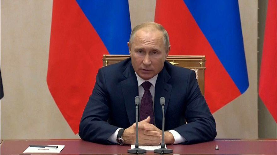 Putin: Schweigeminute für die Krim-Opfer