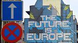 جدارية بجانب المفوضية الأوروبية في بروكسل