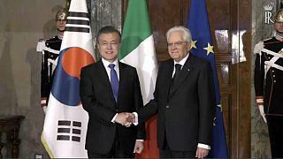 Bilaterale Italia-SudCorea: Moon incontra Mattarella e Conte