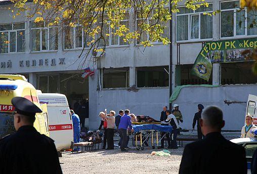 Μακελειό σε τεχνική σχολή στην Κριμαία