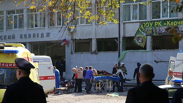 Ataque sangrento em escola na Crimeia