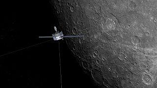 BepiColombo летит на Меркурий