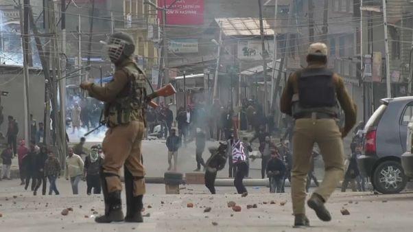 Varios muertos en las protestas en contra de la India en Cachemira