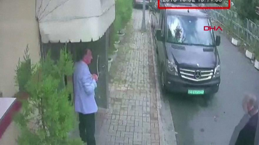 Nyomkeresés az isztambuli szaúdi konzulátuson