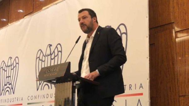 """Salvini in Russia: """"Sanzioni sono una follia"""""""