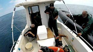 Drogfogás a Gibraltári-szorosban