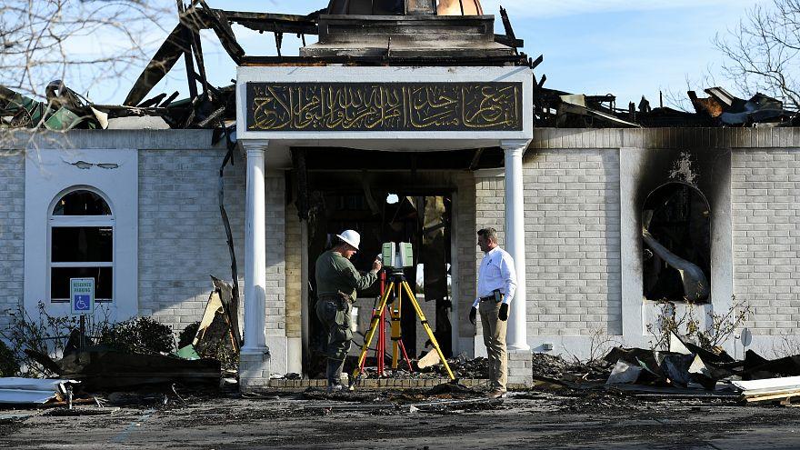 السجن 25 عاما لأمريكي بتهمة إحراق مسجد في تكساس