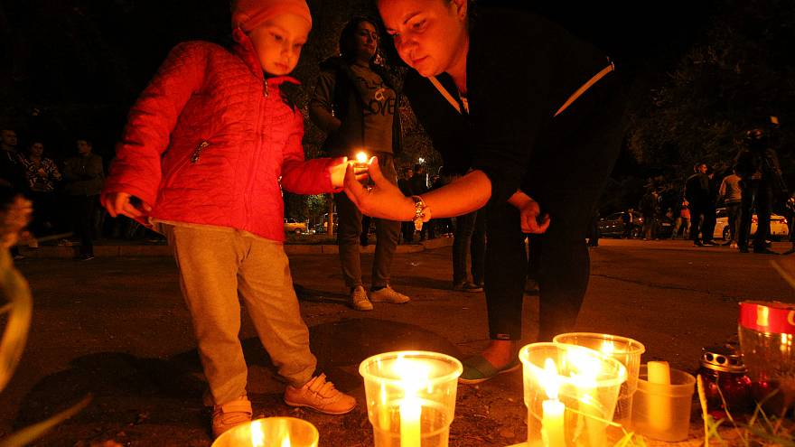 Amoklauf: Kertsch trauert um 19 Todesopfer