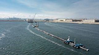 Ocean Cleanup begins in Pacific
