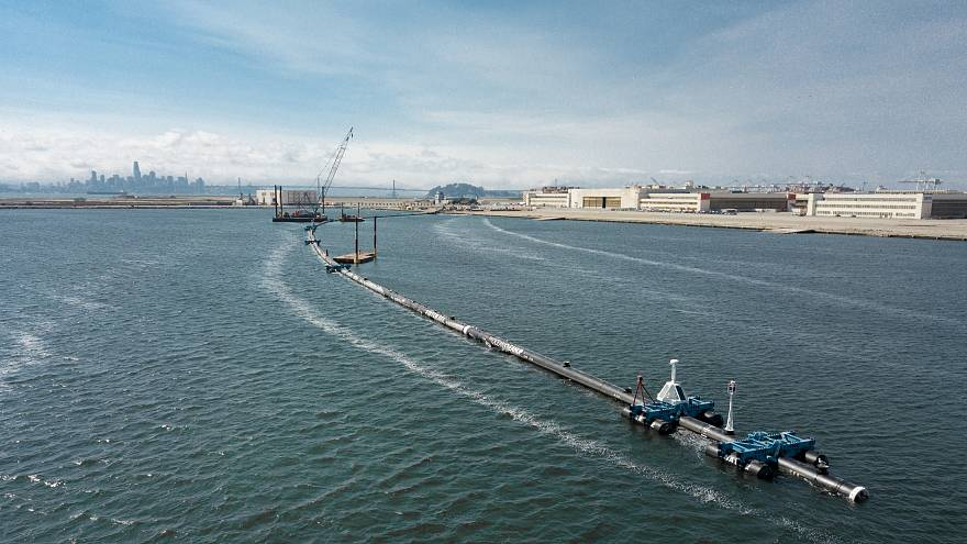 Ocean Cleanup begins in Pacific