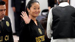 Keiko Fujimori, en libertad tras una semana en arresto preventivo