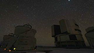 Paranal Observatory in Chile's Atacama desert