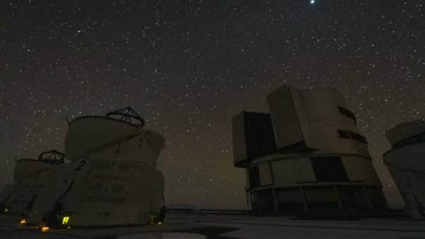 Paranal Observatory in Chile's Atacama desert