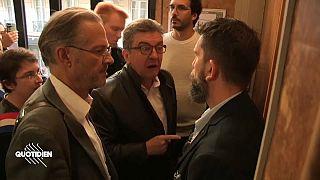 VİDEO | Fransa'da radikal sol parti lideri Melenchon mali polis tarafından sorgulandı
