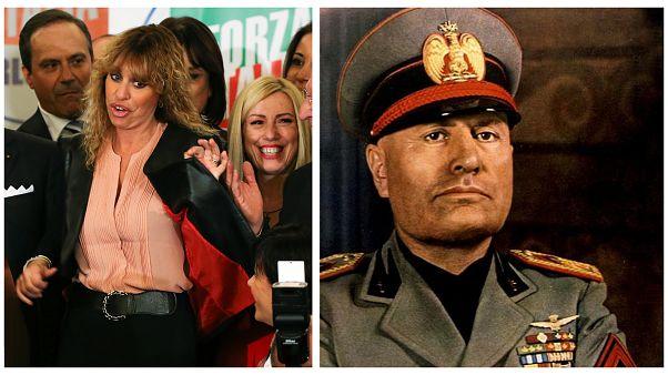 Mussolini unokája megfenyegetett mindenkit, aki sértőt ír nagyapjáról
