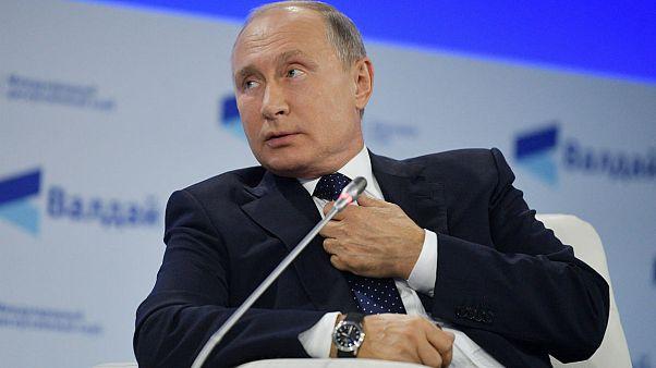 پوتین: آنهایی که میخواهند ایران از سوریه برود، تضمین بدهند