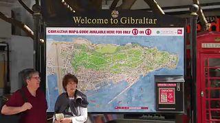 خريطة جبل طارق