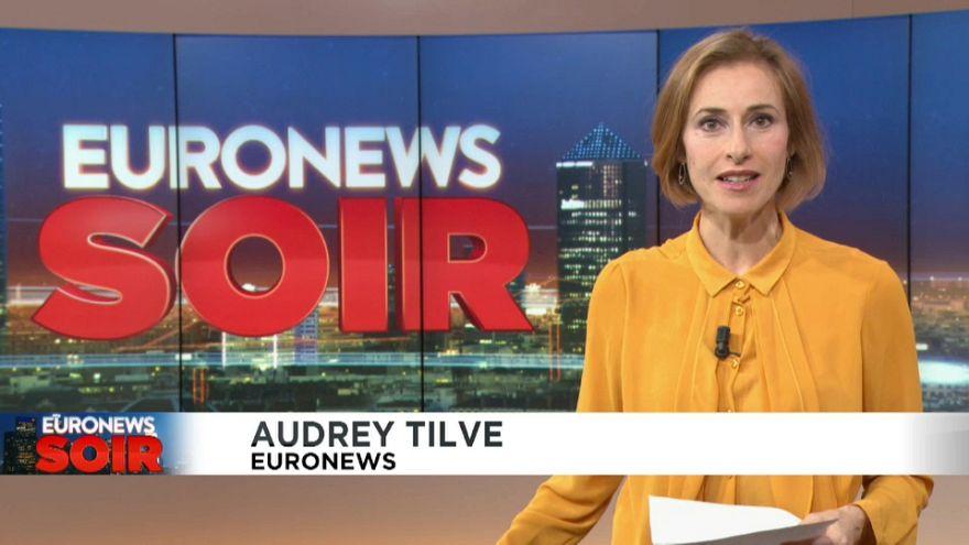 Euronews Soir : l'actualité de ce 18 octobre