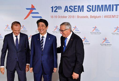 Asem-Gipfel in Brüssel gestartet