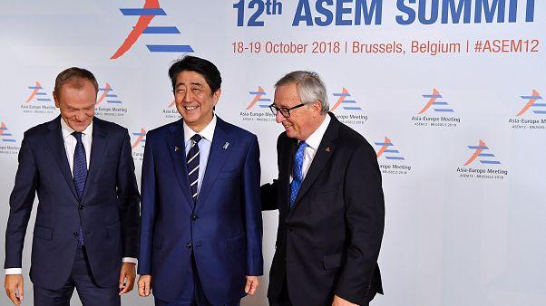 La cumbre Asia-Europa apuesta por un mayor multilateralismo
