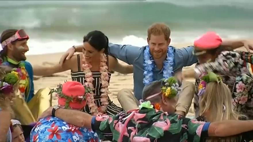 Harry e Meghan, bagno di folla in Australia