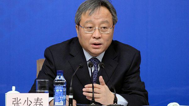 Çin'de eski bakan yardımcısı Zhang tutuklandı
