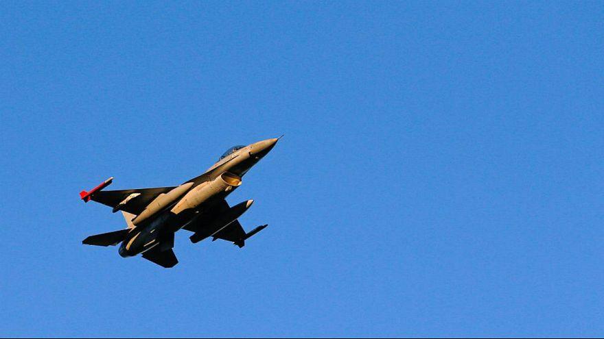 جنگنده اف-۱۶ بلژیک «به اشتباه» به آتش کشیده شد