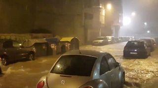 Calles de Benicarlo, en Castellón