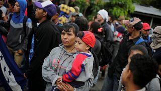 Mexico seeks UN help over Honduras migrant caravan amid Trump threats