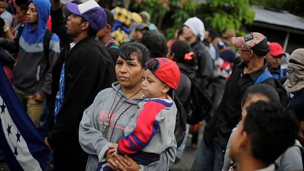 Mexico seeks UN help over Honduras migrant caravan amid Trump threats