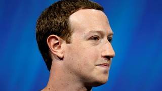 Facebook's Mark Zuckerberg in Paris, France, in May 2018.