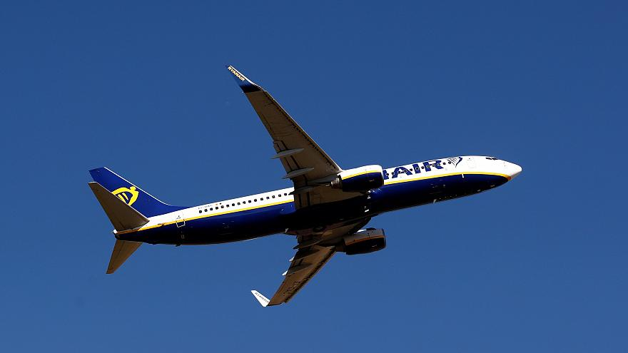 Ryanair Boeing 737 aircraft - file picture