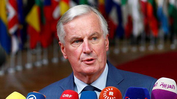 Barnier: Gümrük kontrolü yeni bir sınır yaratılacağı anlamına gelmiyor