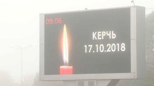 Dernier hommage aux victimes de Kertch