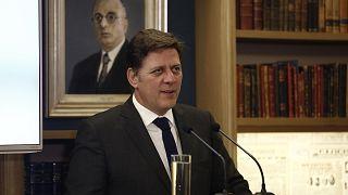 Ο αναπληρωτής υπουργός Εξωτερικών της Ελλάδας, Μιλτιάδης Ι. Βαρβιτσιώτης,