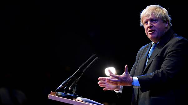 Expectación por el discurso del ex ministro británico de exteriores Boris Johnson