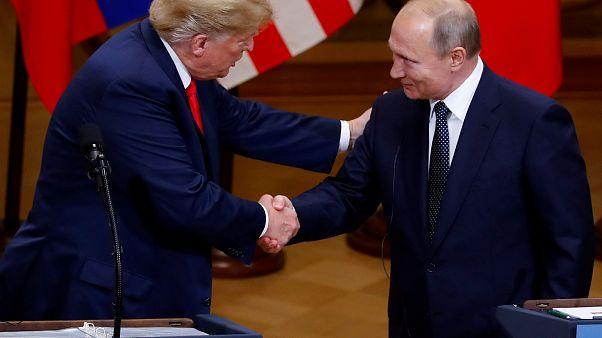 Nach Helsinki-Treffen: Trump lädt Putin nach Washington ein