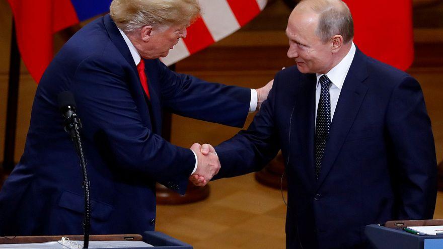 Putin y Trump se reunen en Helsinki