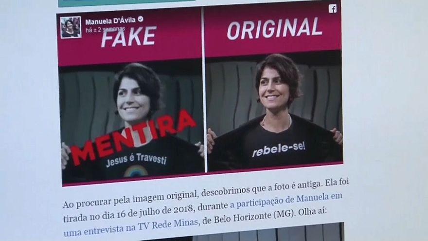 Notícias falsas podem ter beneficiado Bolsonaro