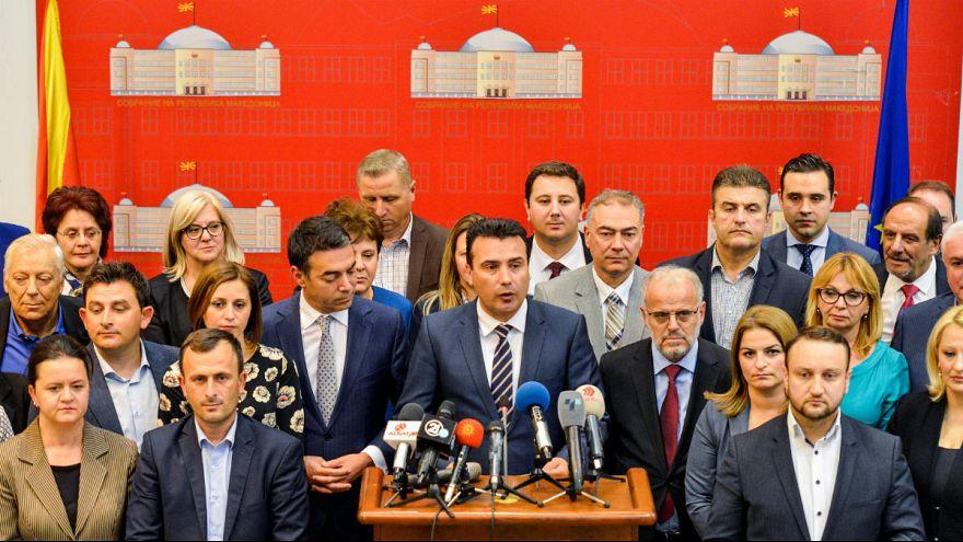 ΠΓΔΜ: Εγκρίθηκε η πρόταση Ζάεφ για τις αλλαγές στο σύνταγμα