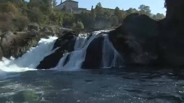 La belleza 'sumergida' de las Cataratas del Rín