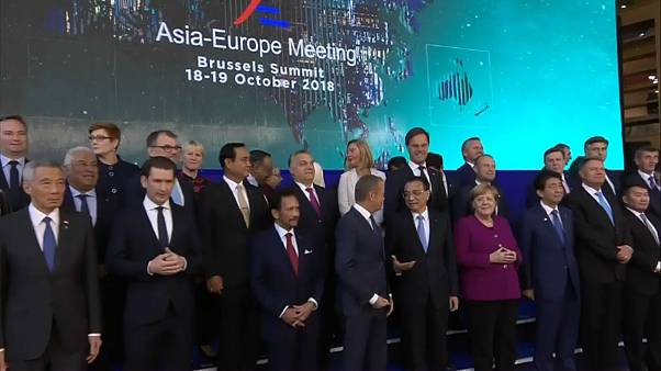 Brexit e taxas dos EUA assombram Cimeira Ásia-Europa