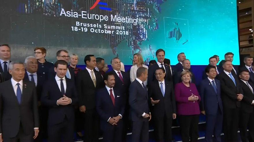 Asem-Gipfel: Schulterschluss gegen Trump?
