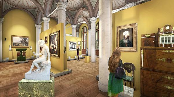 Sweden's National Museum reopens