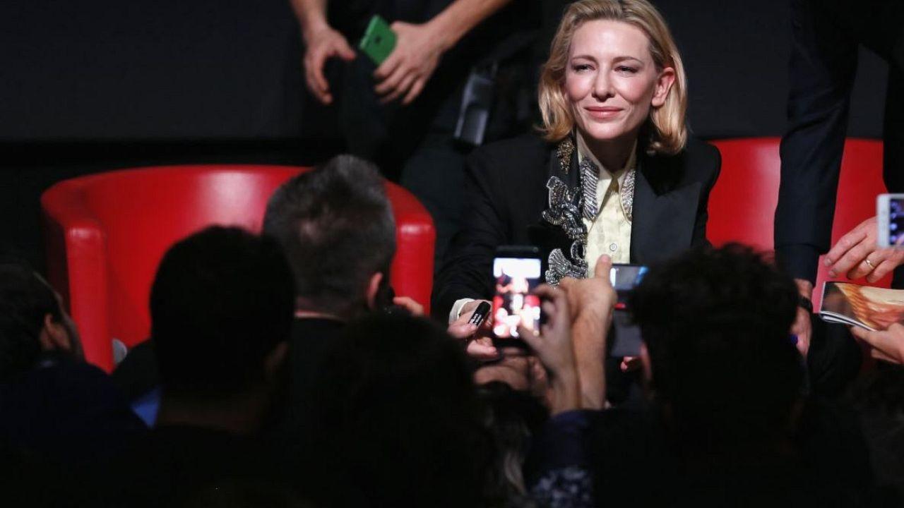 Blanchett lleva 'La casa del reloj en la pared' a Roma