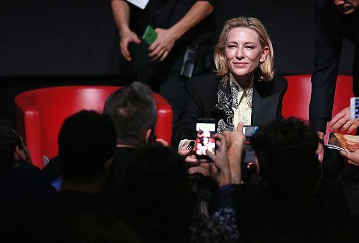 Rome Film Festival: Cate Blanchett shines